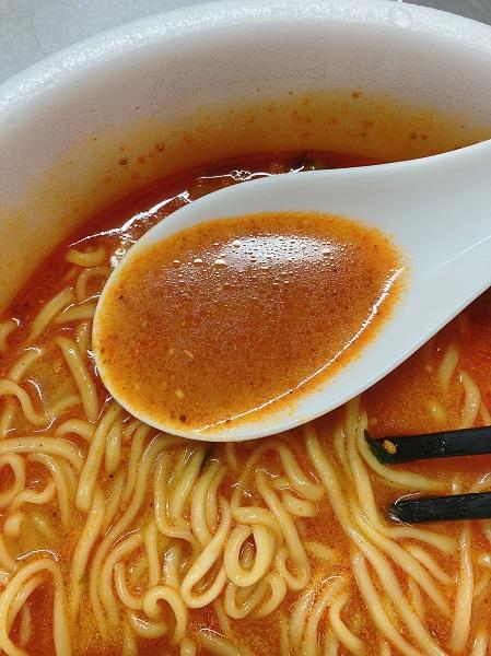 マルちゃん正麺カップ炎のうま辛担々麺